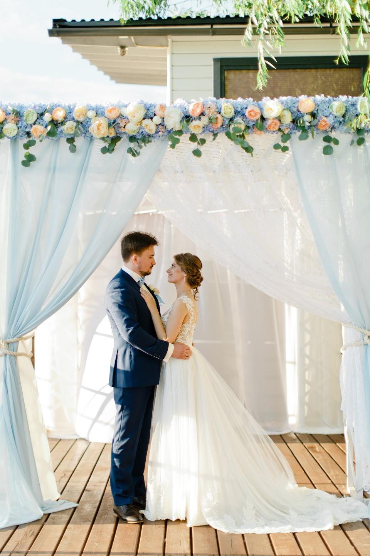 Морская романтика: свадьба Александра и Евгении