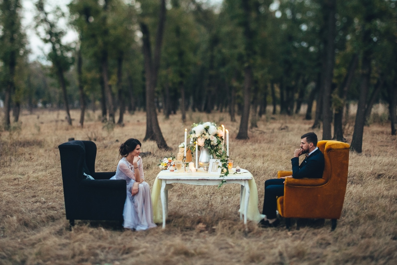 Дыхание осени: стилизованная фотосессия Евгения и Марии