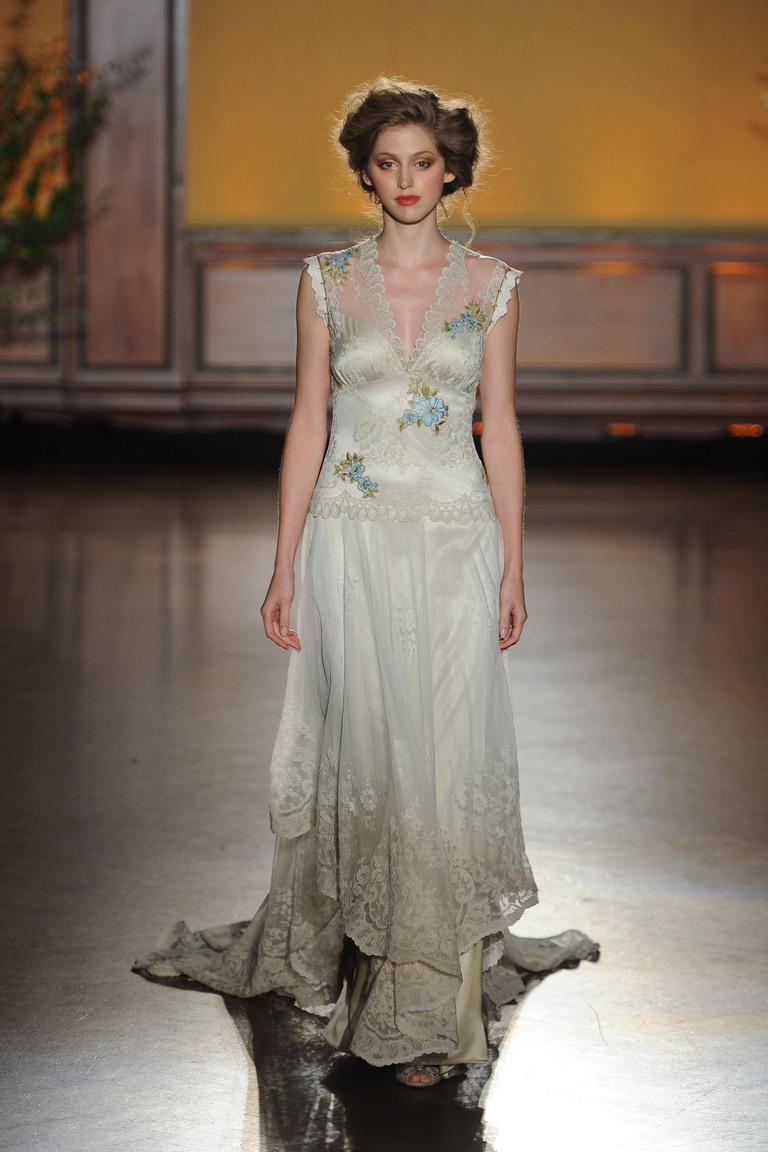 Коллекция свадебных платьев Claire Pettibone осень 2016