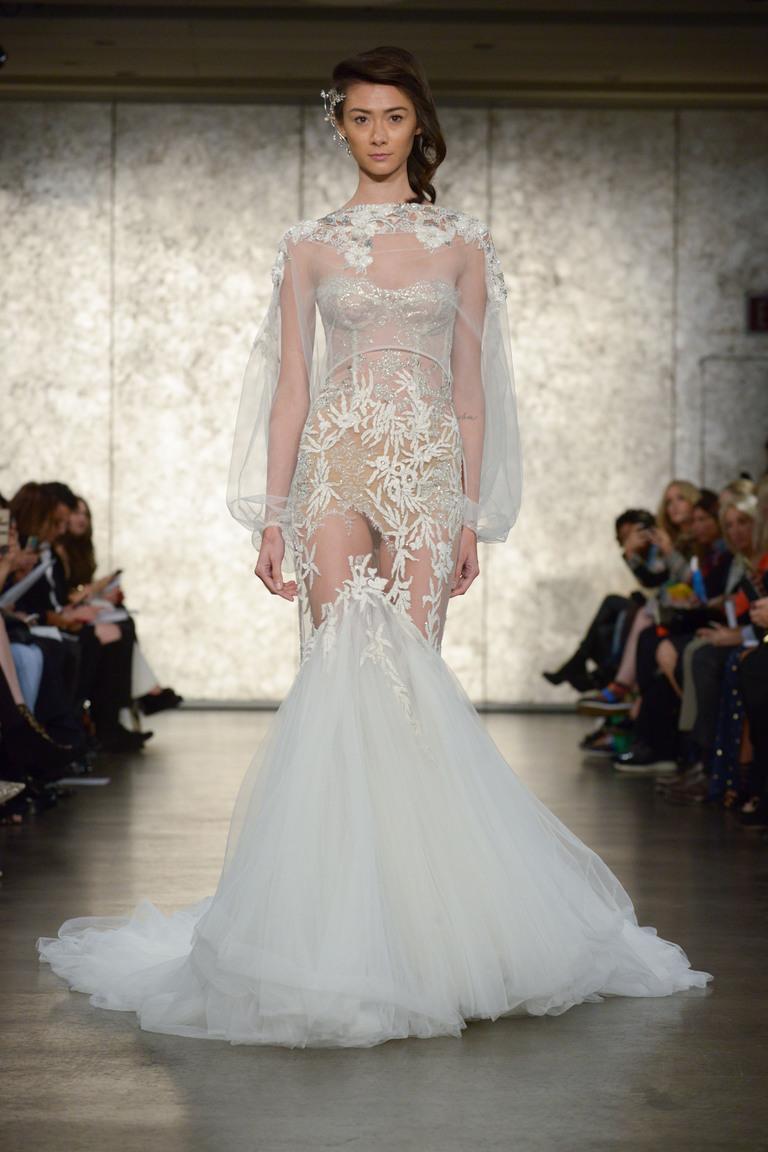 Коллекция свадебных платьев Inbal Dror осень 2016