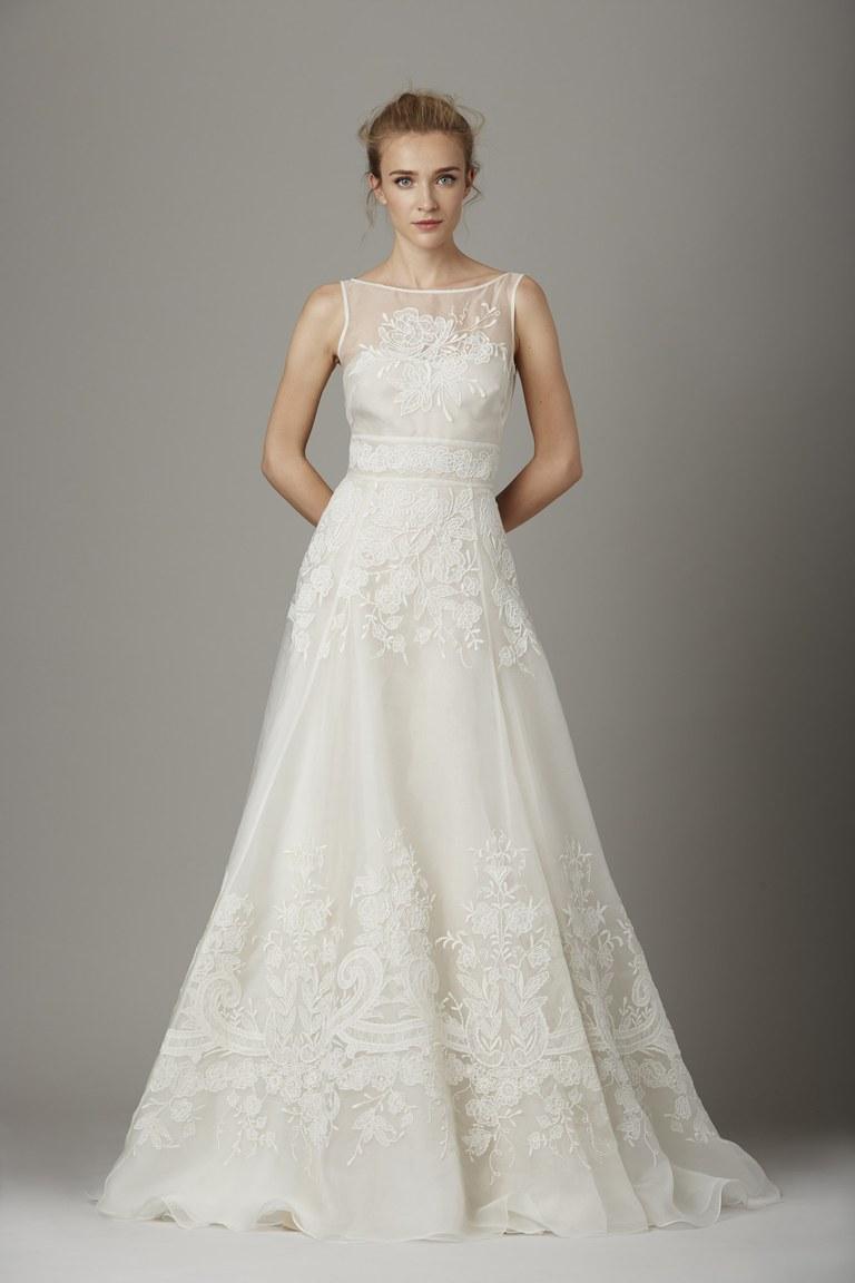 Коллекция свадебных платьев Lela Rose осень 2016