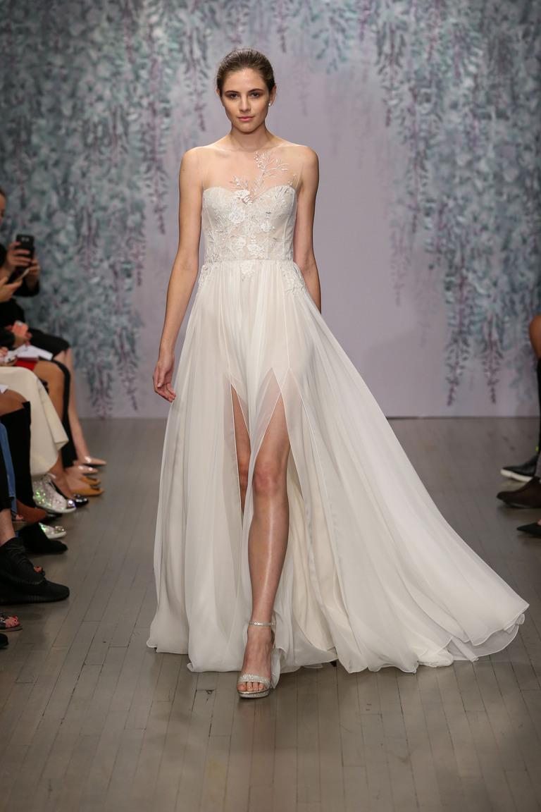 Коллекция свадебных платьев Monique Lhuillier осень 2016