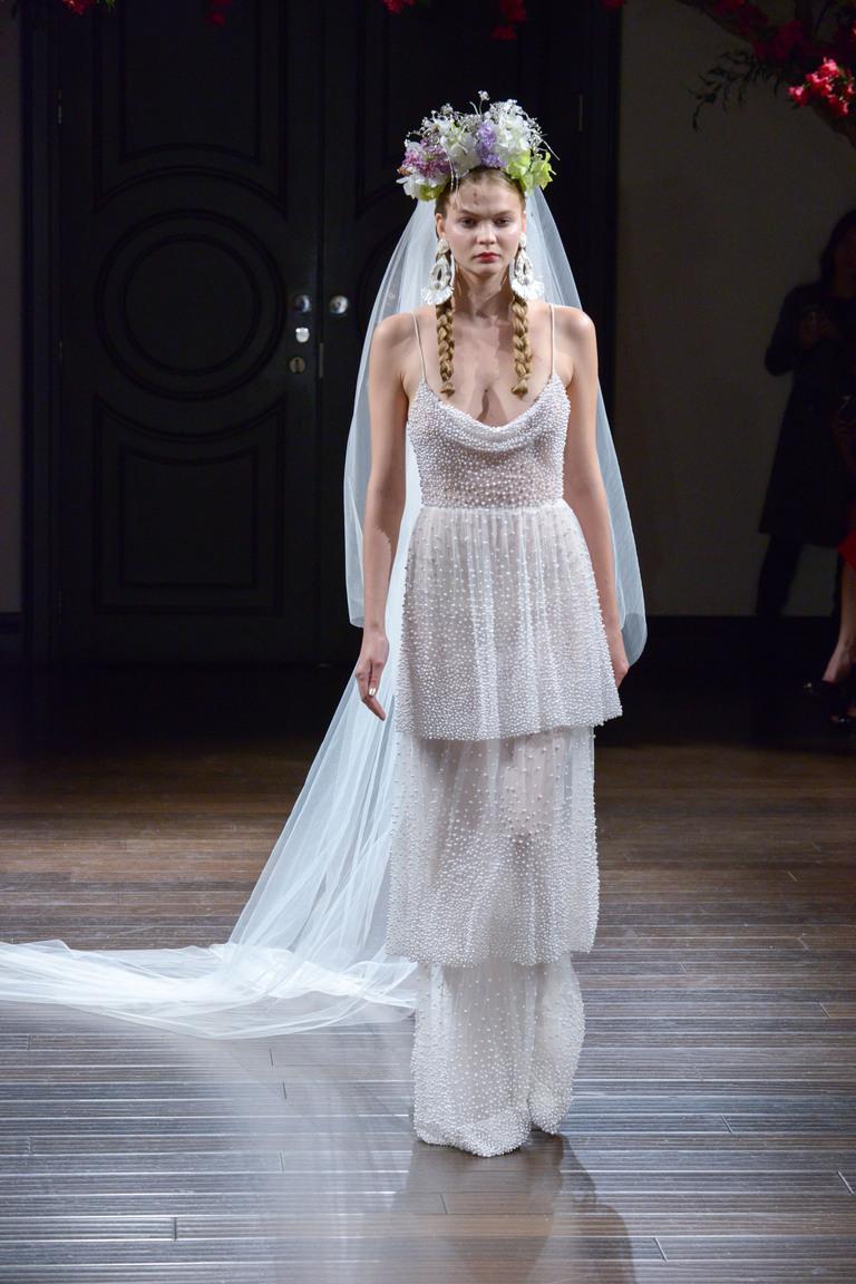 Коллекция свадебных платьев Naeem Khan осень 2016