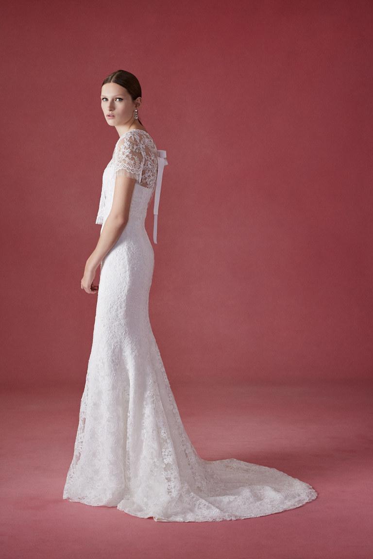Коллекция свадебных платьев Oscar de la Renta осень 2016