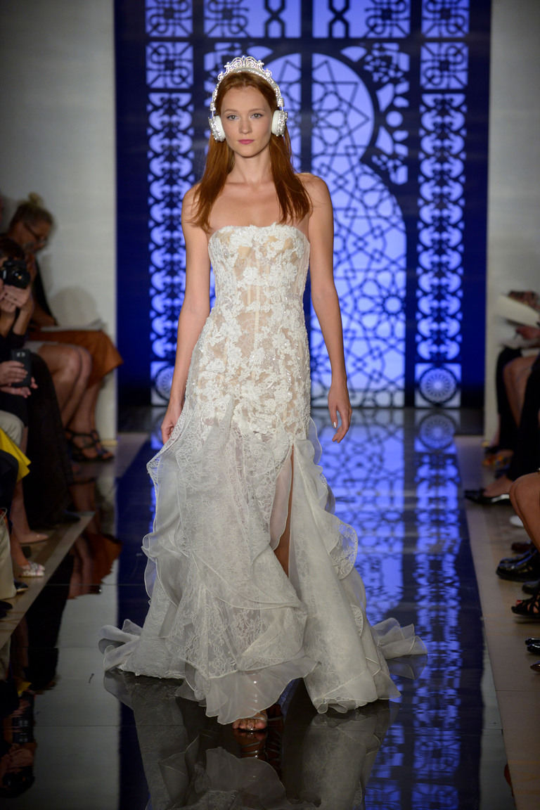 Коллекция свадебных платьев Reem Acra осень 2016