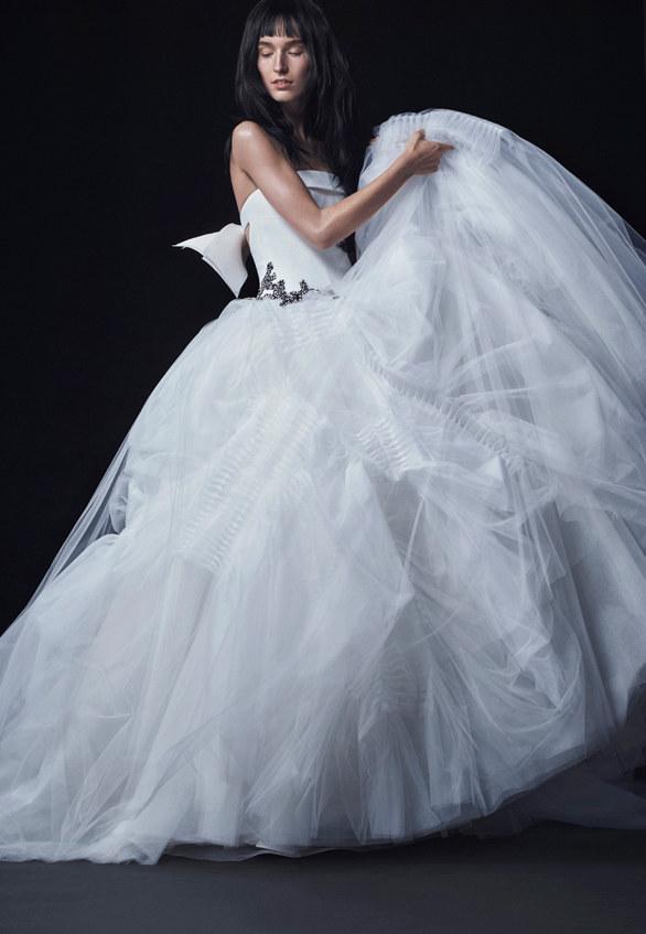 Коллекция свадебных платьев Vera Wang осень 2016