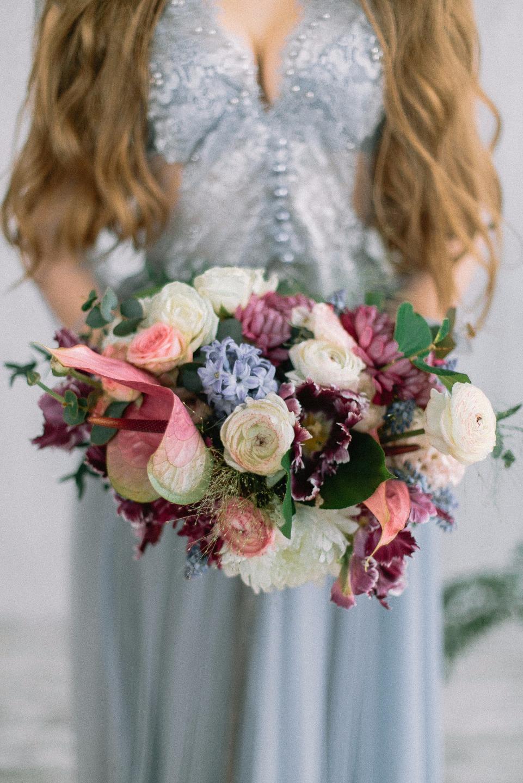 Туман и роза: стилизованная фотосессия
