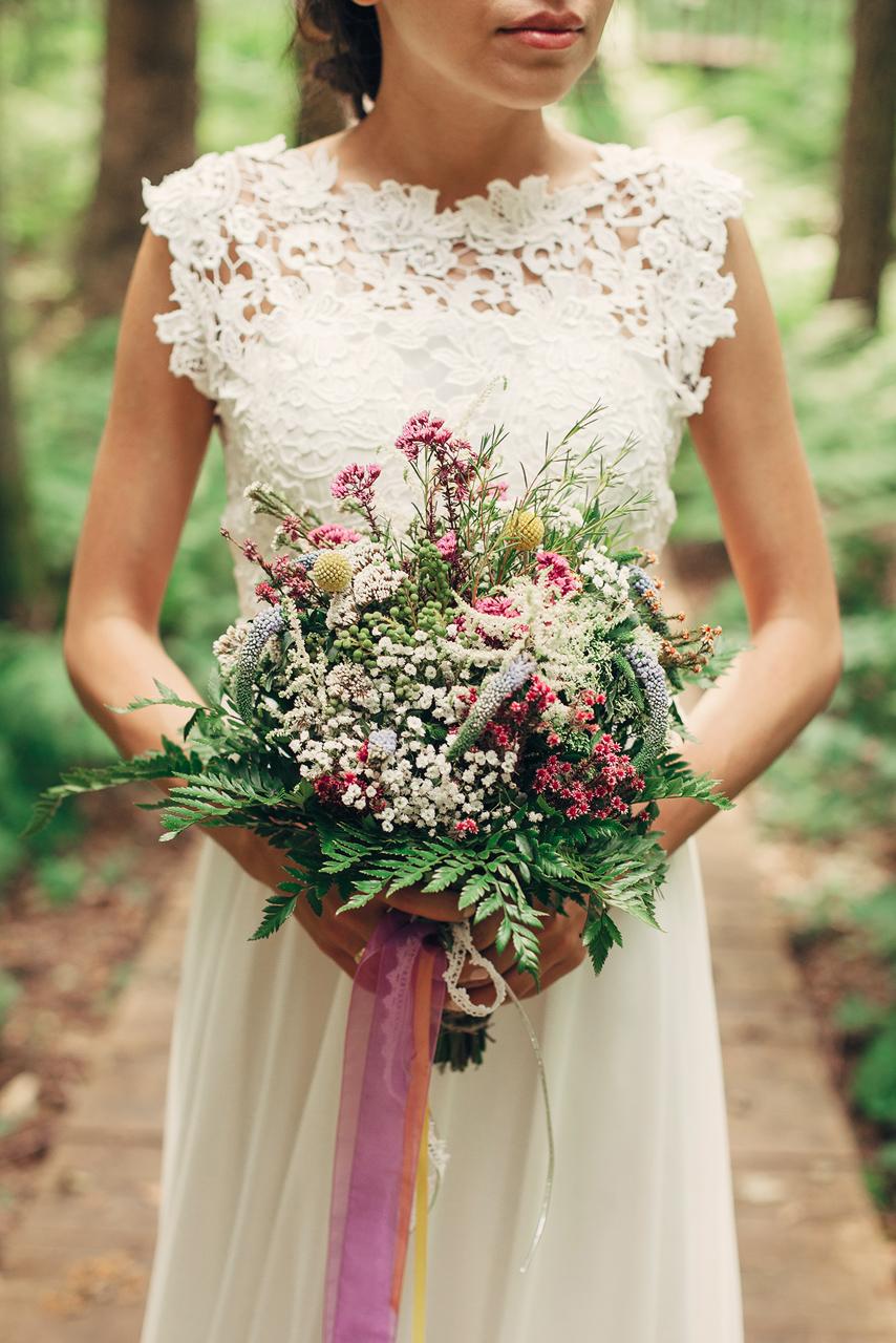 Когда цветет папоротник: свадьба Марка и Анастасии