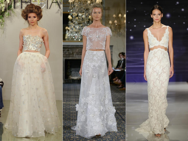 Модели от Theia; Mira Zwillinger; Reem Acra