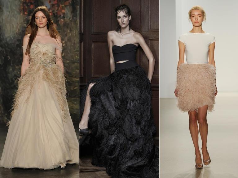 Модели от Jenny Packham; Vera Wang; Kelly Faentanini