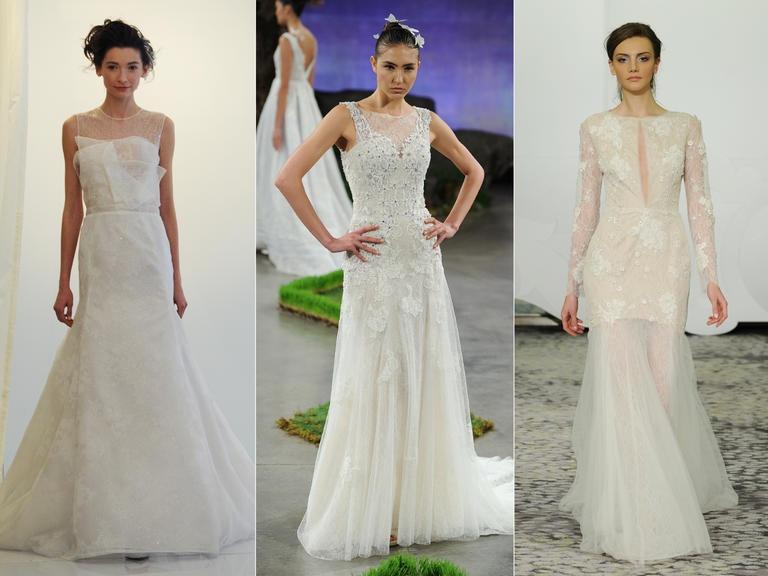 Модели от Angel Sanchez; Ines Di Santo; Rivini