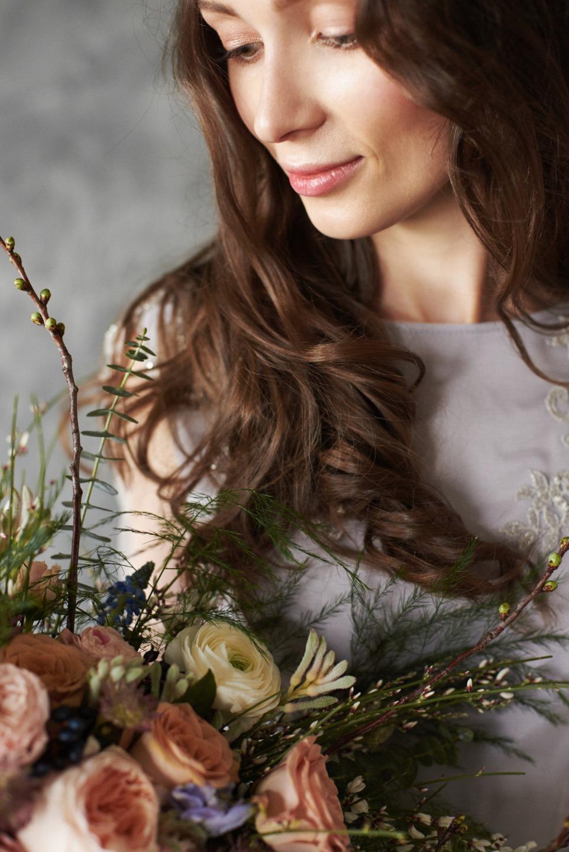 Ветер в волосах: стилизованная фотосессия