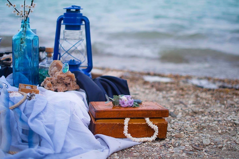 Под шум волн: стилизованная фотосессия Алексея и Христины
