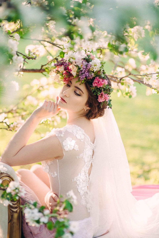 Мечты о весне: стилизованная фотосессия