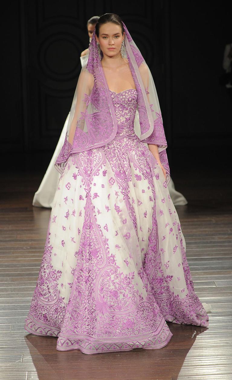 Коллекция свадебных платьев Naeem Khan весна 2017