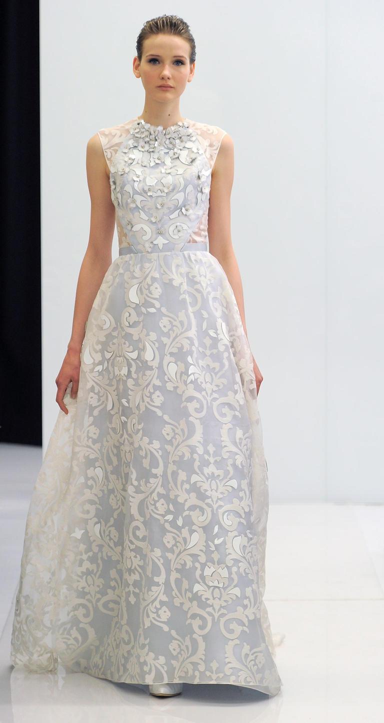 Коллекция свадебных платьев Angel Sanchez весна 2017