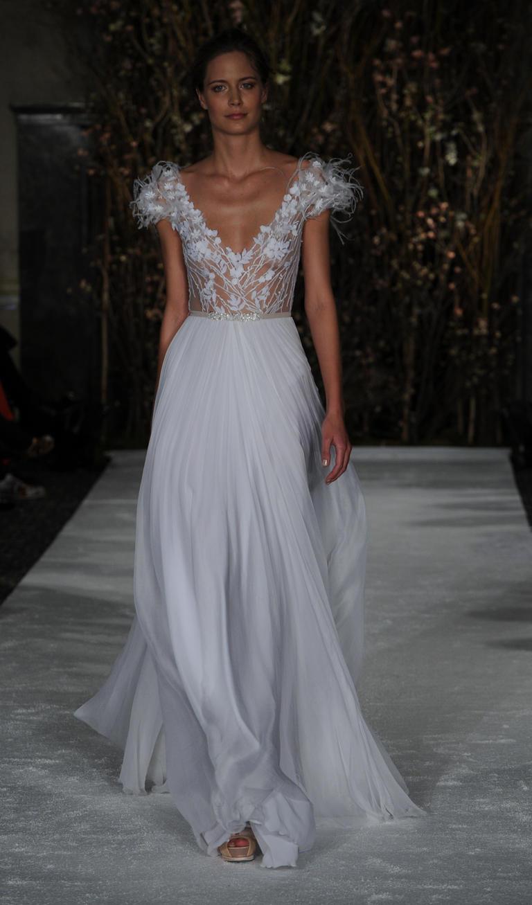 Коллекция свадебных платьев Mira Zwillinger весна 2017