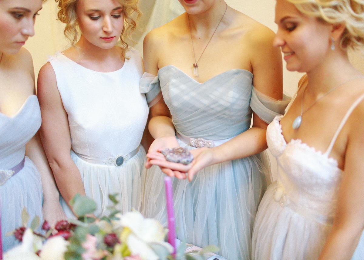 Чарующие кристаллы: стилизованная фотосессия