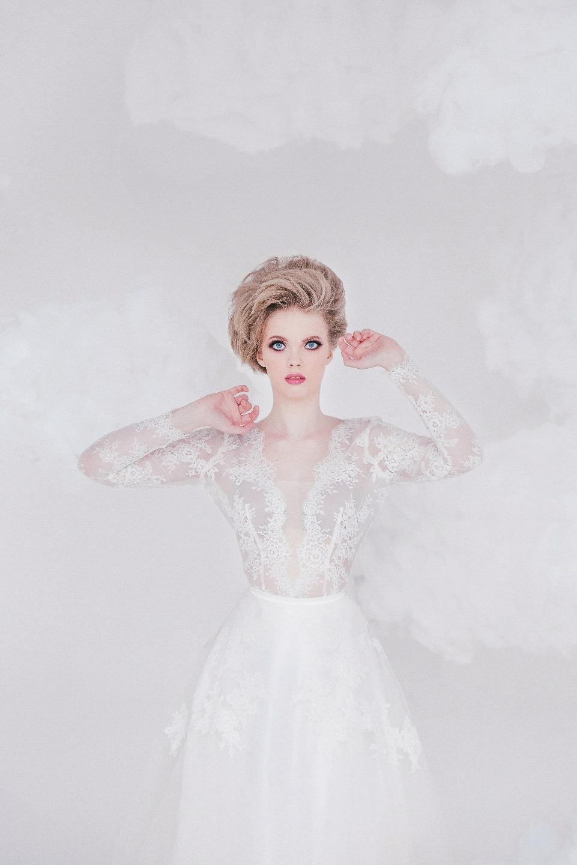 Прогулка в облаках: стилизованная фотосессия