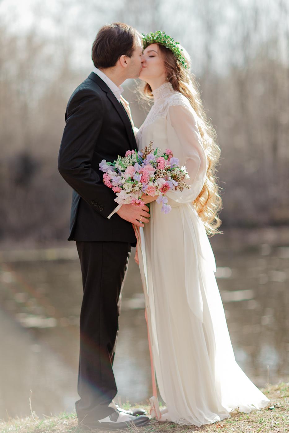 Пробуждение весны: стилизованная фотосессия Ксении и Григория