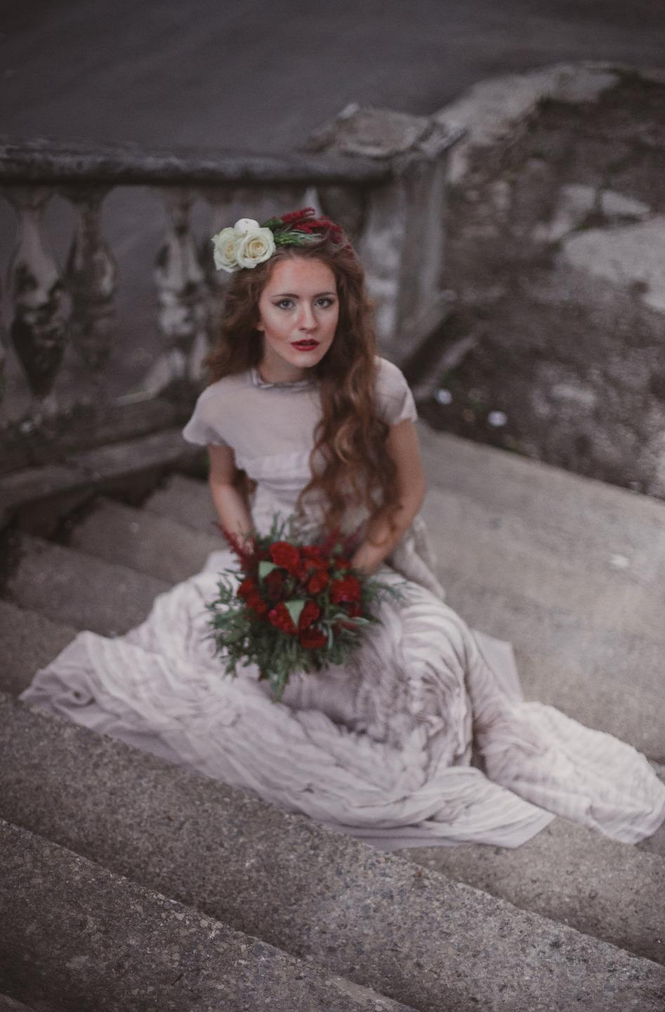 Сбежавшая невеста: стилизованная фотосессия