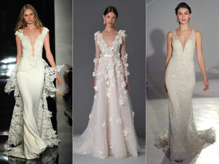 Фотогрф: Maria Valentino/MCV PHOTO; Модели от: Reem Acra, Marchesa, Lazaro