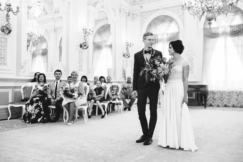 Гармония в зеленом: свадьба Федора и Ангелины