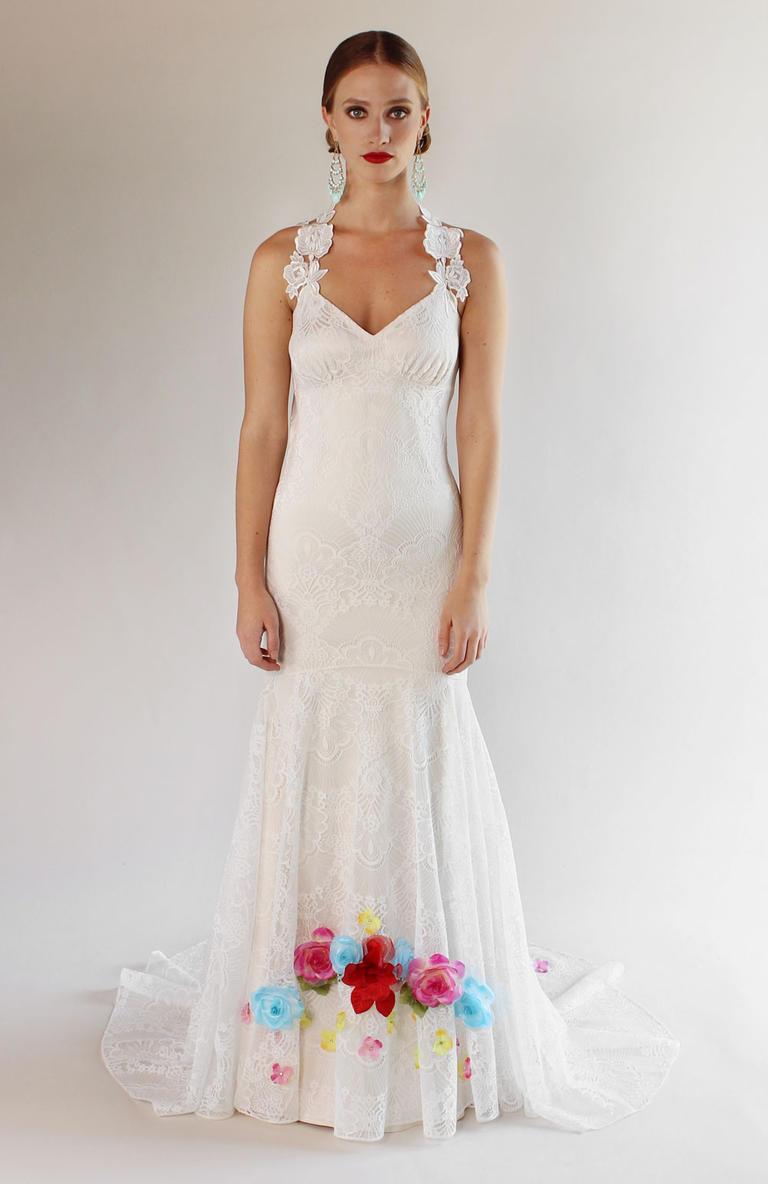 Коллекция свадебных платьев Claire Pettibon весна 2017