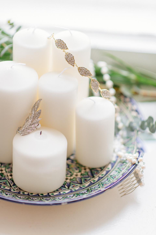 Нежный бохо: стилизованная фотосессия утра невесты