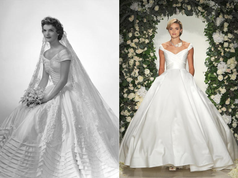 Фотографы: Bachrach/Getty Images; Kurt Wilberding; Платье образа: Anne Barge