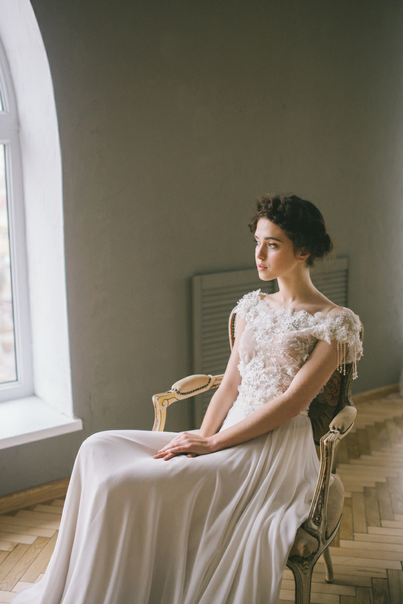 Викторианский шик: стилизованная фотосессия