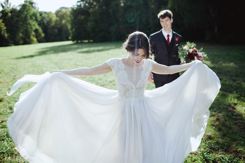 У берегов безмятежности и счастья: свадьба Александра и Натальи