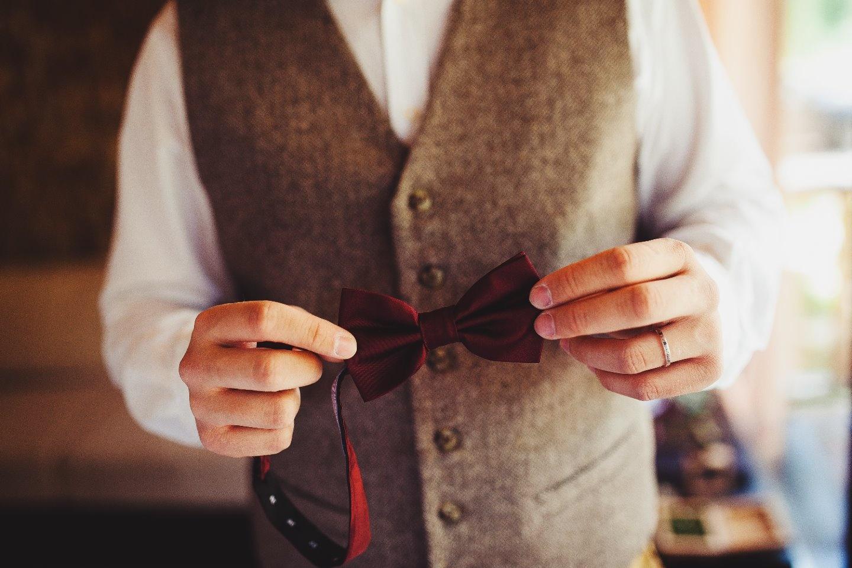Красный бархат: свадьба Дениса и Наталии