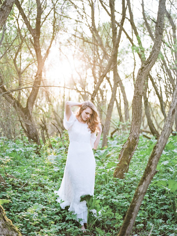 Как влюбляются лесные нимфы: стилизованная фотосессия