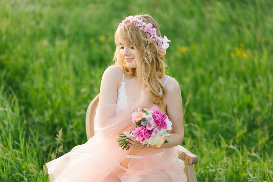 невеста на природе - 14