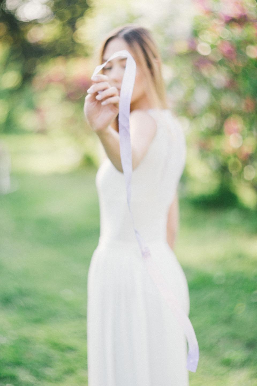 Нежность сирени: стилизованная фотосессия