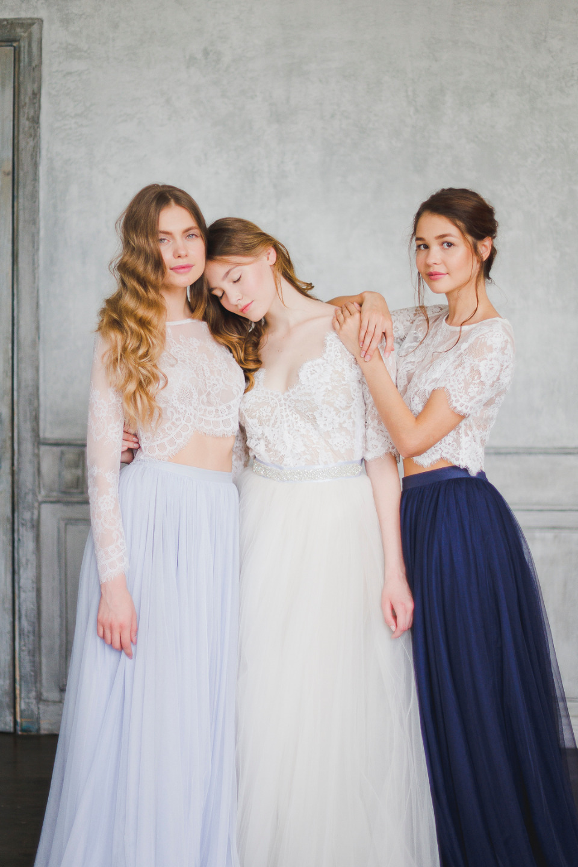 Blue Blossom: стилизованная фотосессия
