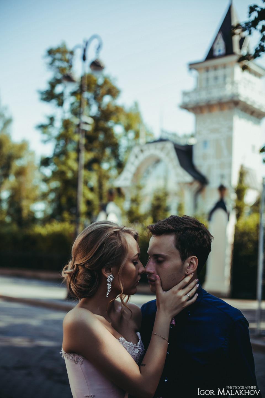 Сказка в розовом цвете: свадьба Дениса и Яны