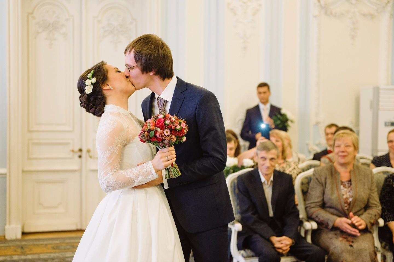 Петербургская сказка: свадьба Дмитрия и Александры