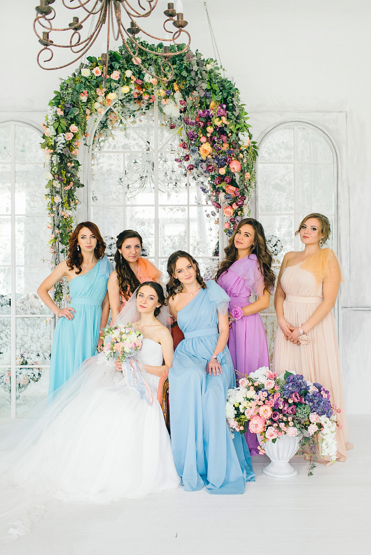Цветочный сад: свадьба Юрия и Вероники