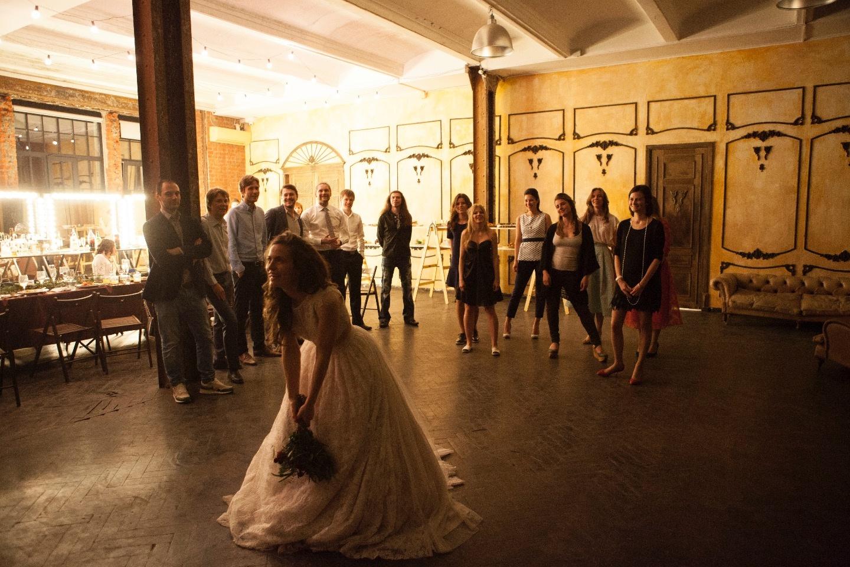 В стиле лофт: свадьба Клима и Александры