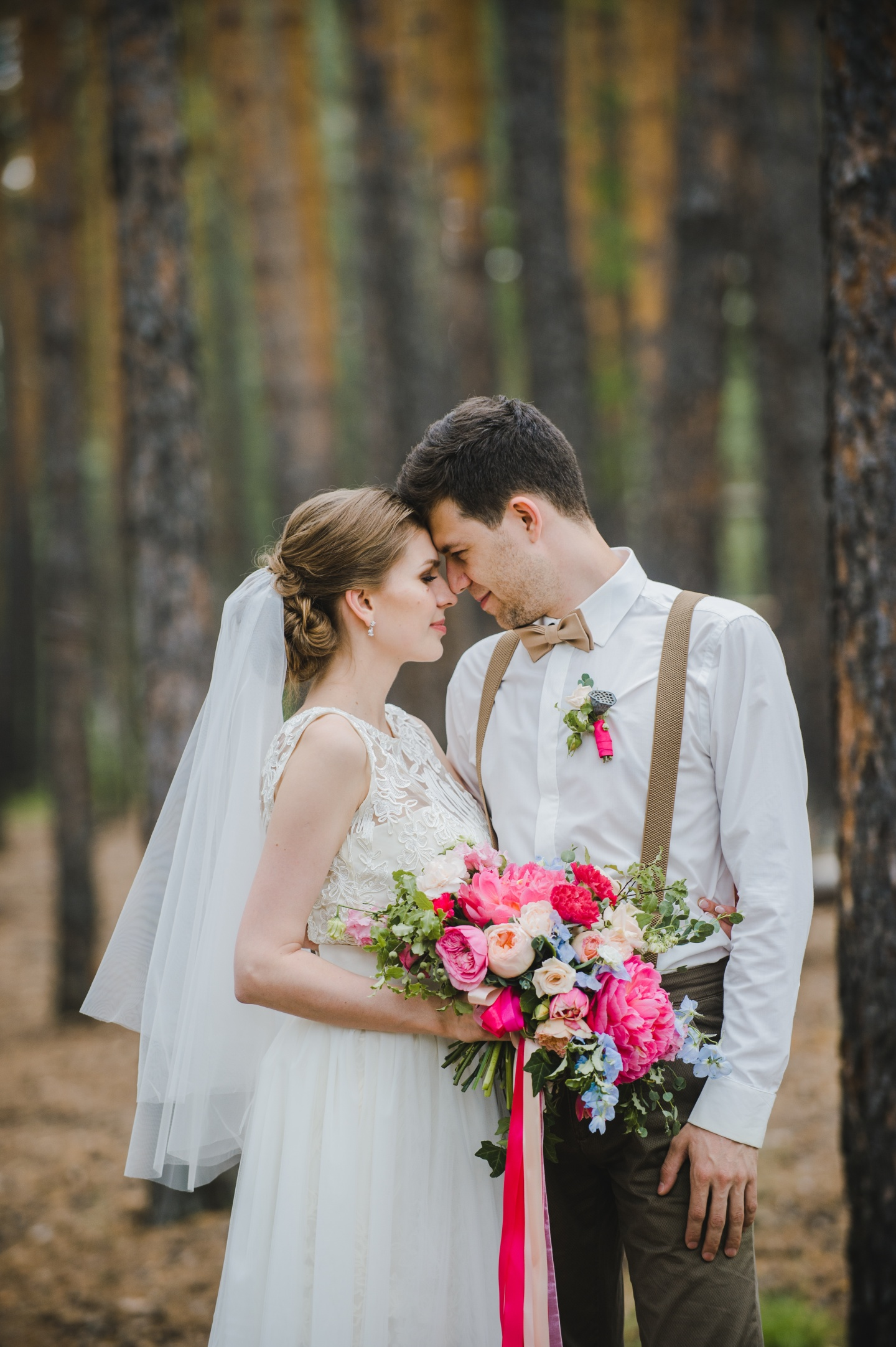 Романтичный рустик: свадьба Леши и Оли