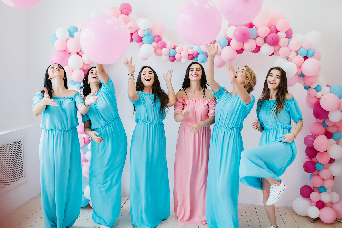 Воздушно-сладкая вечеринка: девичник Людмилы