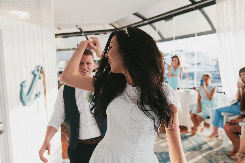 Морская свадьба: праздник Александра и Александры