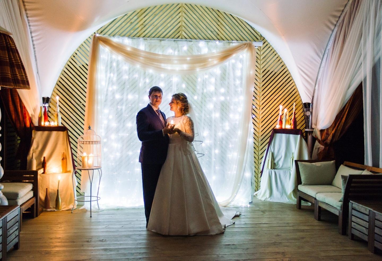 Счастье быть семьей: свадьба Александры и Юрия