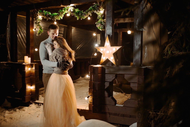 Уютная зима: love-story Алены и Павла