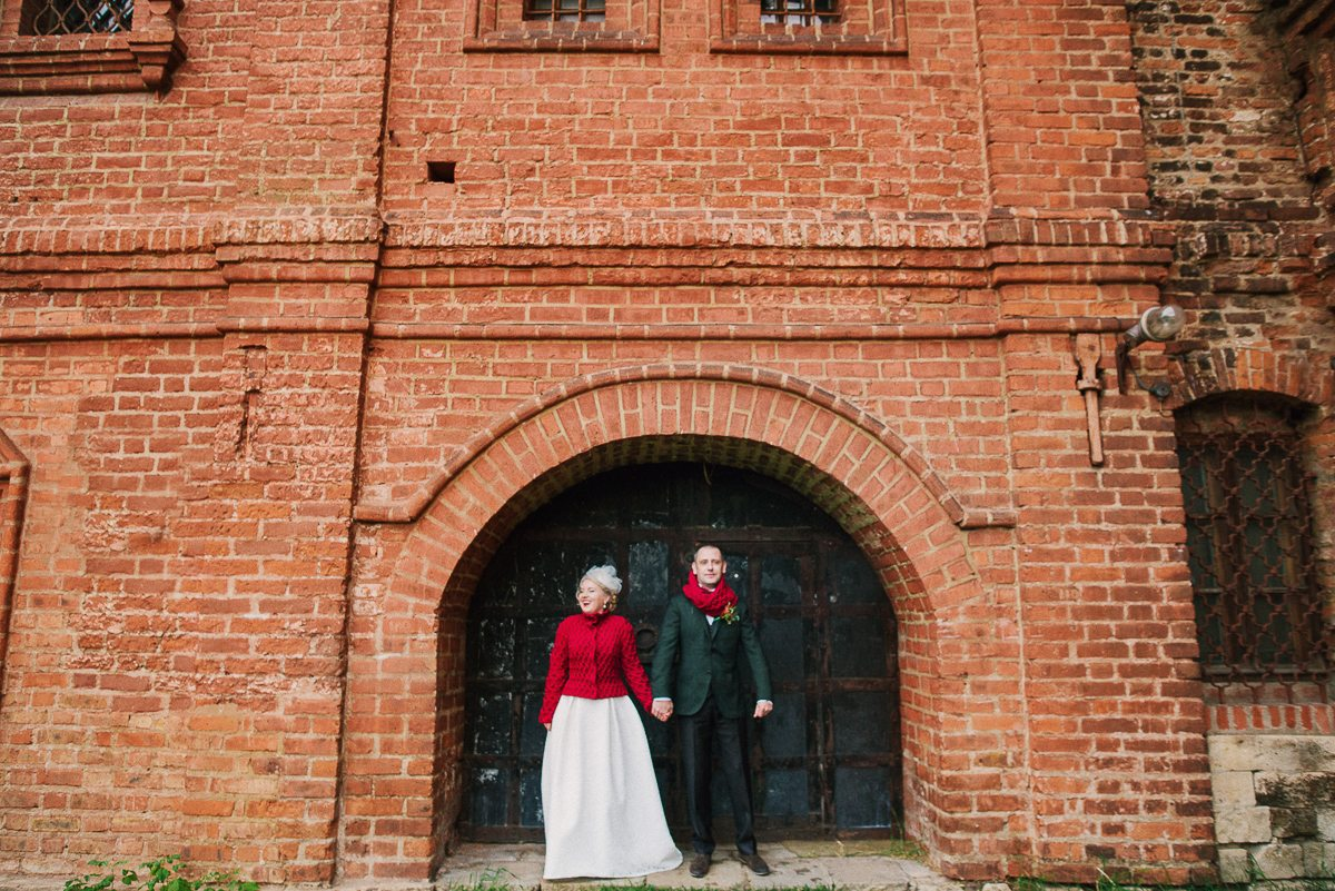 Теплая осень: свадьба Юлии и Андрея