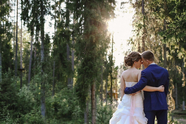 Главное, что ты есть у меня: свадьба Юлии и Дмитрия