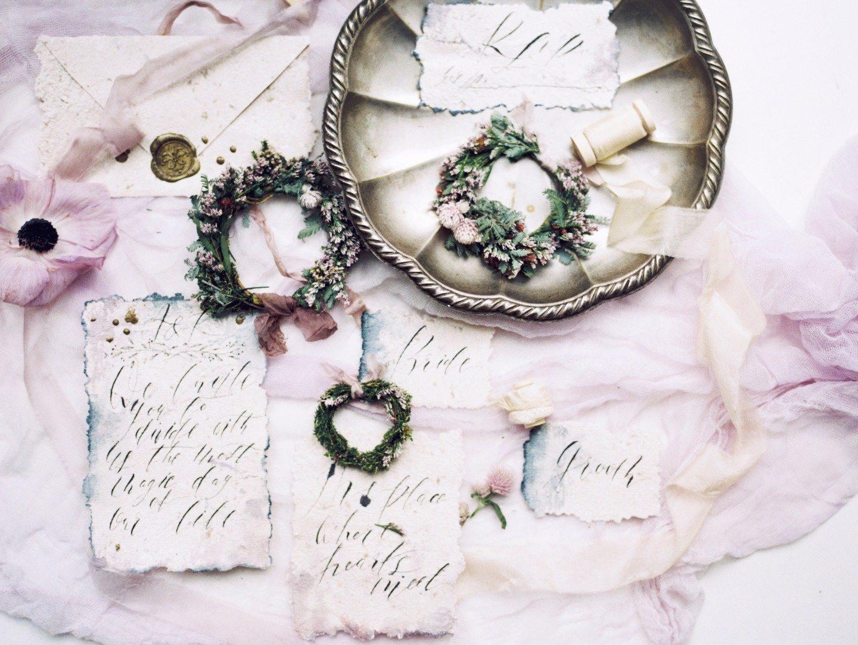 Рождественское волшебство: стилизованная фотосессия Марии и Стаса