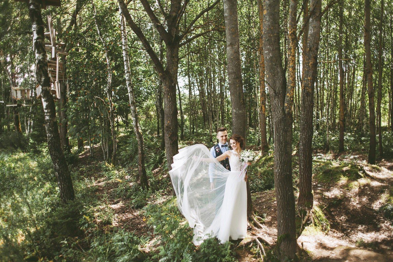 Уютный рустик: свадьба Алексея и Марии